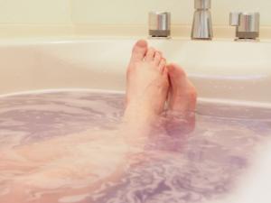 美肌効果をアップさせる入浴方法イメージ